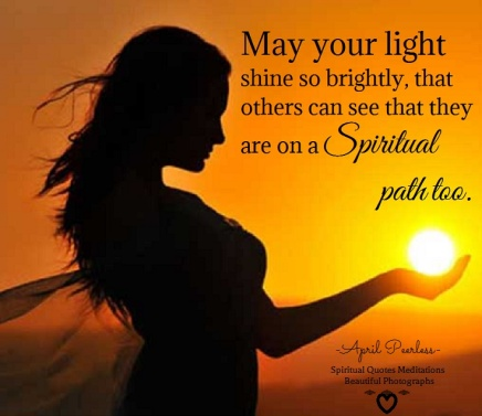 Your path of light...